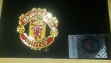 NEW OFFICIAL MANCHESTER UNITED FOOTBALL CLUB PIN BADGE MUFC The RED DEVILS MAN U