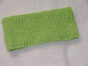 Ladies Hand Knit Lime Green Neckwarmer/Cowl - BNWOT