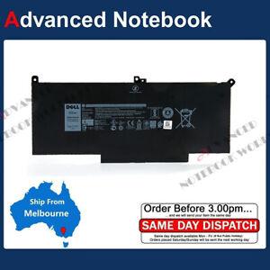 Genuine F3YGT Battery for Latitude 7280 7290 7380 7390 7480 7490 7.6V 60Wh