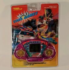 Vintage Tiger Electronics Mini Baseball Handheld Game New Sealed