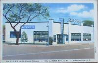 Washington, DC 1940s Linen Postcard: Naylor's Seafood Restaurant - DOC
