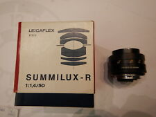 Leica R 1,4/50mm Summilux-R 11875 sehr guter Zustand!!! mit OVP