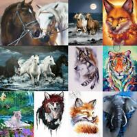 5D DIY Full Drill Diamond Painting Animal Cross Stitch Mosaic Craft Home De #s