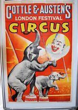 More details for cottles & austen's lonon festival poster circus
