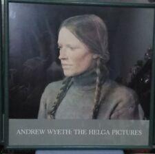 "ANDREW WYETH ""BRAIDS""  Helga Green Frame EXCELLENT Rare American"