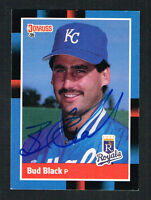 Bud Black #301 signed autograph auto 1988 Donruss Baseball Trading Card
