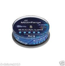 M48789 BLURAY MediaRange 25gb 25pcs Bd-r Spindel Injekt Print. 4x APOELECTRONICS