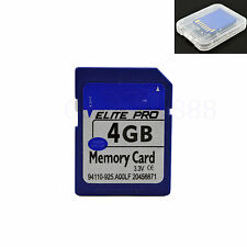 4GB Standard SD Card Secure Digital Memory Card For Canon Camera Laptop PC GPS