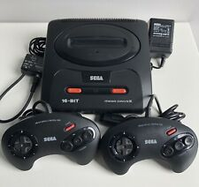 SEGA MEGADRIVE 2 MK2 CONSOLE BASE SET WITH RF CABLE TESTED 100% WORKING