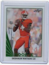 2017 Leaf Clear Draft Picks Green #04 Deshaun Watson Rookie RC #9/10