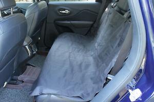 Car Back Seat Protector Cover Rear Mat Liner Waterproof Pet Dog Hammock Black UK