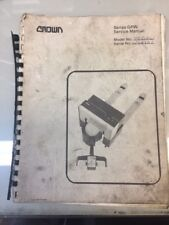 Crown Series GPW Forklift Service Manual