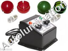 Lionel Transformer Jewel Lens Light Cover Caps W/ Led Bulbs R100 R110 V150 Z250