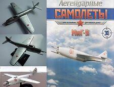 Soviet Russian  MIG 9 turbojet fighter + magazine !