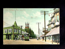 1910 Trolley Stores The Square Arctic Centre RI post card
