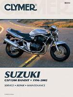 Suzuki 1200 Bandit GSF1200 1996-2003 Clymer Manual M353 NEW
