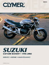 Suzuki 1200 Bandit GSF1200 1996-2003 Clymer Manual M353 NEW