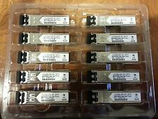 NEW lot of 10 GLC-SX-MM Cisco Compatible 3 YEAR WARRANTY (1000BASE-SX SFP)