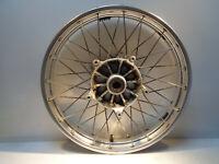 "B43 - BMW R1200GS Front spoke wheel 2.50x19"" silver alloy BMW Pt Nr 36317710850"