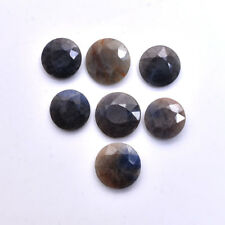 114 Cts/7 Pc 100% Natural Untreated Sapphire Faceted Cut Gemstones Lot 16mm-18mm
