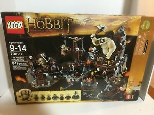 LEGO The Hobbit The Goblin King Battle (79010) Retired Set. Complete. Used.