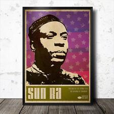 Sun Ra arte cartel Música Jazz Blue Note Coltrane Charles Mingus Miles Davis
