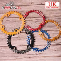 UK SNAIL 6Colors 104BCD 30-42t Round/Oval Cycling MTB Bike Chainset Chainring