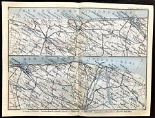 Belgium Lithography Antique European Maps Atlases 1910 1919 Date