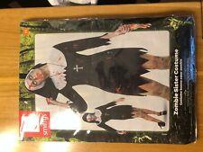 WOMENS FANCY DRESS ZOMBIE SISTER NUN MAN HALLOWEEN FUNNY HEN STAG COSTUME