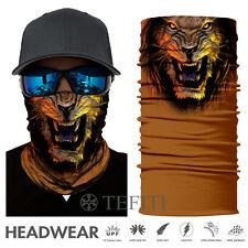 2018 3D Lion UV Face Shield Sun Mask Balaclava Fishing Scarf Headwear
