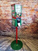 vintage gumball machine +stand Sinclair gas home decor man cave gift game room