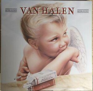 "VAN HALEN 1984 MCMLXXXIV Promo poster flat 12""X12""  Eddie Roth Angel"