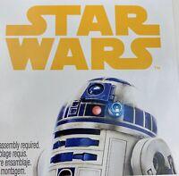 Star Wars Hasbro Disney Walmart Exclusive R2-D2 Collectible The Last Jedi Drone!