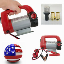 New listing Portable 12V Dc Electric Fuel Transfer Pump Diesel Kerosene Oil Auto Industry Us