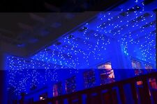 720 LED Blue and White Indoor Outdoor Hanging Snowing Icicle String Light New