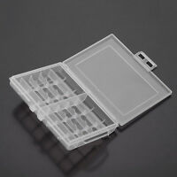 Useful 1x Hard Plastic Battery Case Box Holder Storage for 10 AA/AAA Battery HF