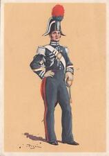 A6880) UNIFORMI CARABINIERI, GRANDE TENUTA DEL 1833 DA BRIGADIERE. VIAGGIATA.