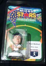 1995 MICRO STARS PAUL MOLITOR FIGURE (BLUE JAYS) – UNOPENED PACKAGE