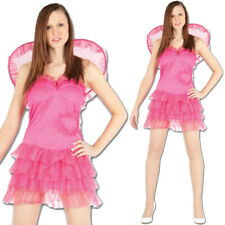 Womens Cupid Costume Ladies Fairytale Fancy Dress Up Book Week Stag Party Outfit