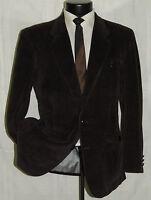 Exquisite VENTURA men's 2 button dual vents corduroy jacket sports coat 40 R