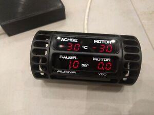 BMW e30 alpina style vent gauge