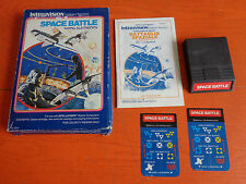 INTELLIVISION INTELLIGENT TELEVISION MATTEL ELECTRONICS 1979 SPACE BATTLE USATO