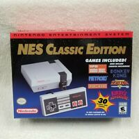 Nintendo NES Classic Edition Mini System 30 Classic Games BRAND NEW & AUTHENTIC!