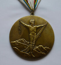 Chamonix 1924 Winter Olympics - I Olympic Winter Games decoration medal