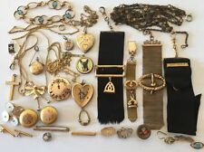 Victorian & Edwardian Costume Jewelry Collections & Lots