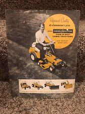1963 HAHN TRACTOR DEALER ADVERTISING BROCHURE