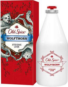 Old Spice Wolfthorn After Shave Lotion 100ml Rasierwasser For Man Erfrischend
