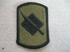 U.S Army Patches Infantry Brigade