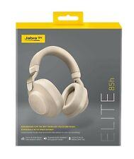 Jabra Elite 85h Over Ear Headphones, ANC, SmartSound, Alexa gold beige