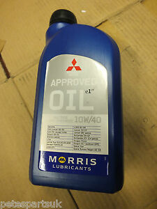 Morris / Mitsubishi approved 10w/40 Multivis semi synthetic Motor Oil 1L B29